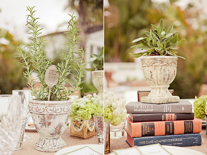 Featured inside weddings vintage garden inspired